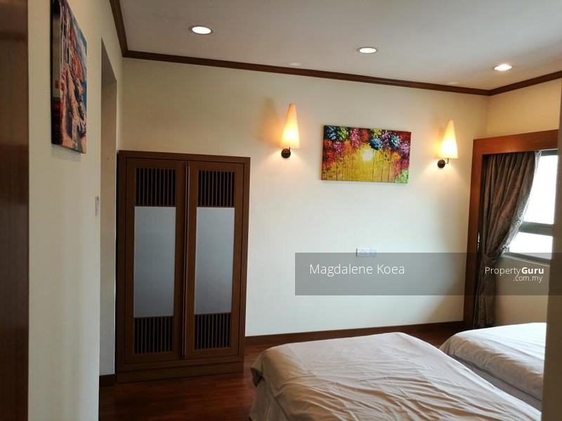 マレーシアのマンションの寝室