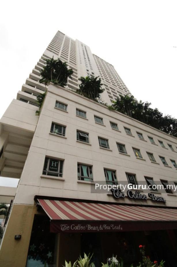 マレーシアのマンション外観