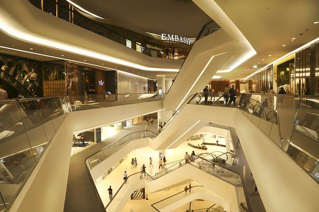 高級ショッピングセンターのイメージ