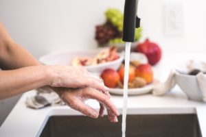 hand-washing-in-the-kitchen