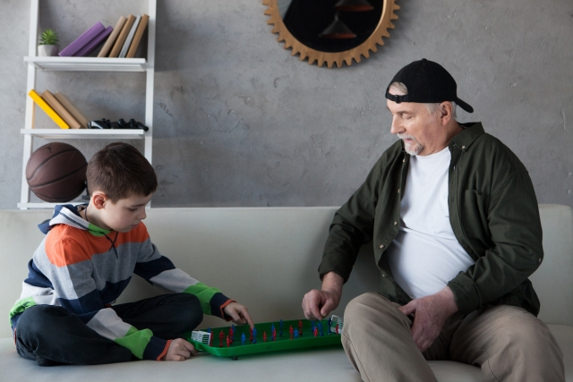 孫とゲーム